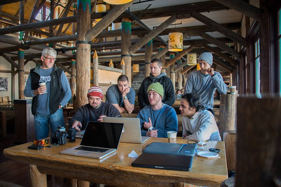 Teaching a group of students my star photography post processing workflow at Mount Rainier National Park. Photo Credit: Kathy Vickhttp://mskathyv.smugmug.comhttps://www.facebook.com/kathy.vick