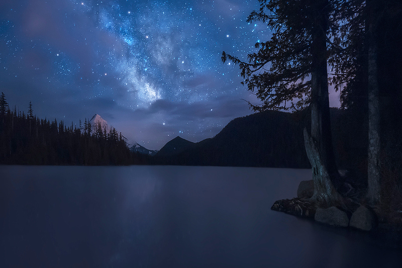 Painted in the Sky - Lost Lake, Oregon