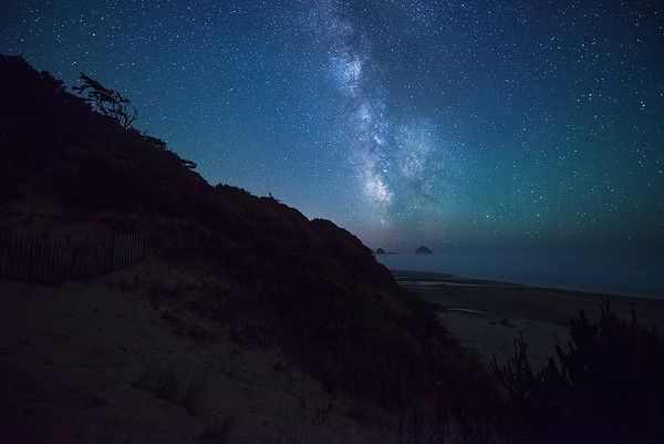 Starry Night Skies of the Central Coast - Oregon