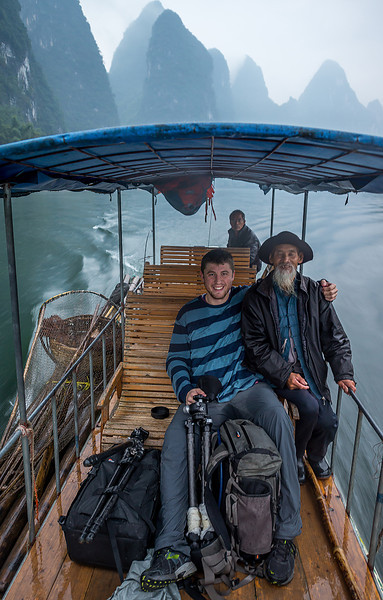Bamboo Rafting down the Li River - XingPing, China